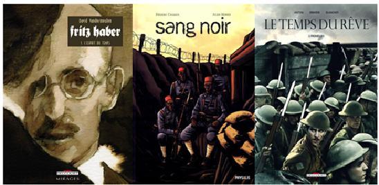 Vandermeullen, Fritz Haber ; Chabaud, Monier, Sand Noir ; Antoni, Ormière, Blancher, Le Temps du rêve (couvertures).