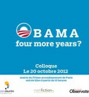 Colloque - Obama, four more years ?, samedi 20 octobre 2012