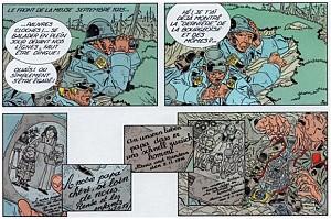 Comès, L'Ombre du corbeau (extrait).